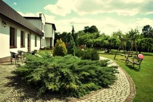 Dom weselny Radom, ogród  4
